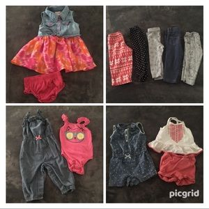Baby 12 Month Summer Clothes